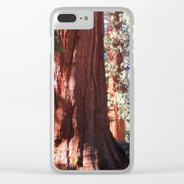Giant Sequoia Clear iPhone Case