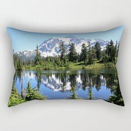 Mt. Shuksan and Reflection Rectangular Pillow