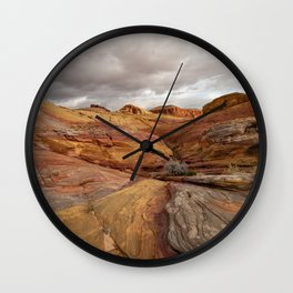 Canyon Overlook - Valley_of_Fire State_Park, Nevada Wall Clock