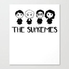 The Supremes Canvas Print