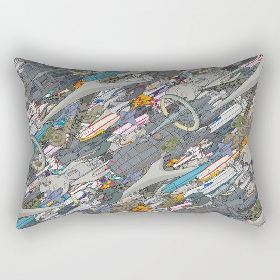 Battlestar Rectangular Pillow