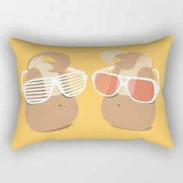 Cool Potatoes Rectangular Pillow