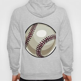 Cartoon Baseball Clipart Hoody