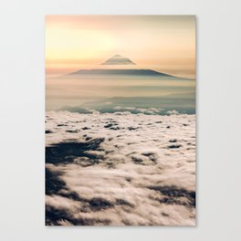 The West is Burning - Mt Hood Canvas Print