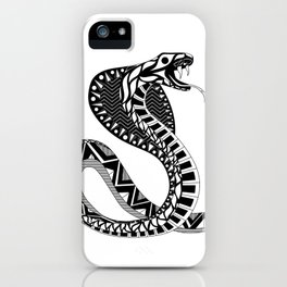 black king cobra ecopop iPhone Case