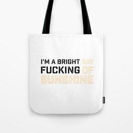 RAY OF SUNSHINE (white) Tote Bag