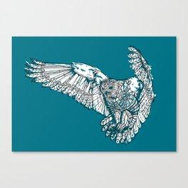 Mechanical owl Canvas Print