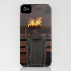 Burning thoughts  iPhone (4, 4s) Slim Case