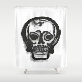 Skull 9 Shower Curtain