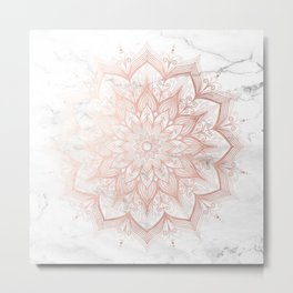Imagination Rose Gold Metal Print