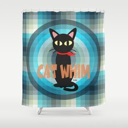 Blue Whim Shower Curtain