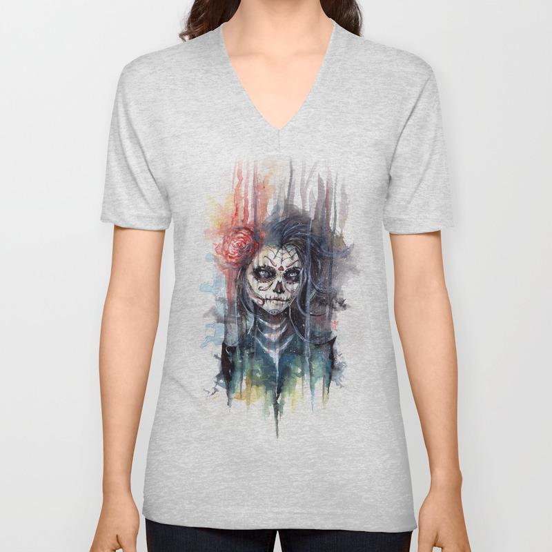 Calavera Sugar Skull Unisex T Shirt
