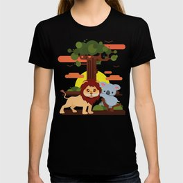Leo lion & Koalina T-shirt