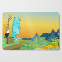 """The Journey Begins (from the book, """"You, the Magician"""") Cutting Board"""