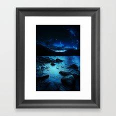 Magical Mountain Lake Framed Art Print