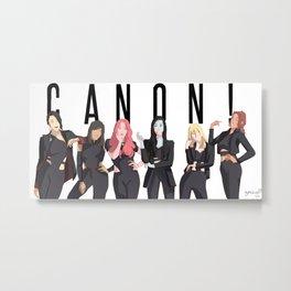 CANON! Metal Print