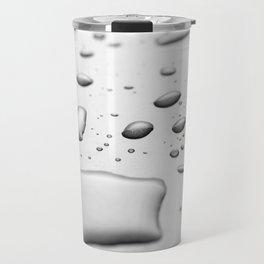 Water drops Travel Mug