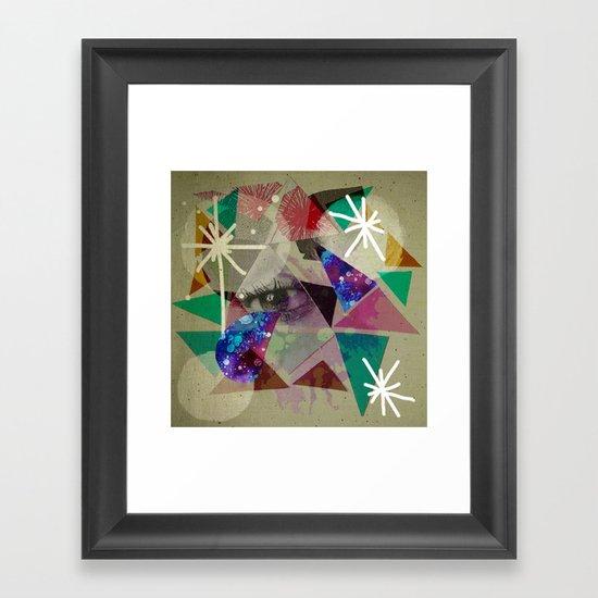oh lovely things Framed Art Print