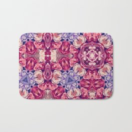 berry floral Bath Mat