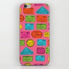 Bon Voyage iPhone & iPod Skin