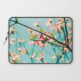 Aqua Spring Laptop Sleeve