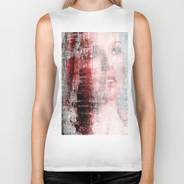 """abstract seduction serie #4"" Biker Tank"