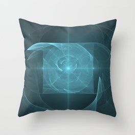 Whirlpool Torus of Love Throw Pillow