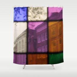 Street View  - JUSTART © Shower Curtain