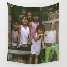 How Many Can We Squeeze into One Hut Wall Tapestry