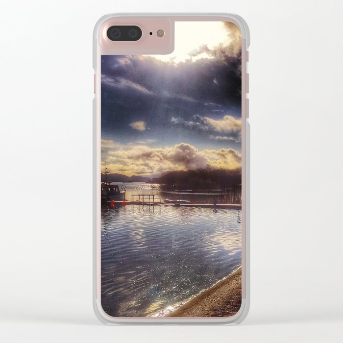 Loch Lomond Clear iPhone Case