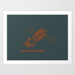 The Venerable Soyuz Art Print