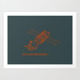 The Venerable Soyuz Art Print
