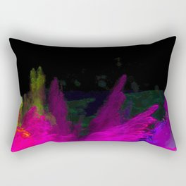 Glowing abstract 5 Rectangular Pillow