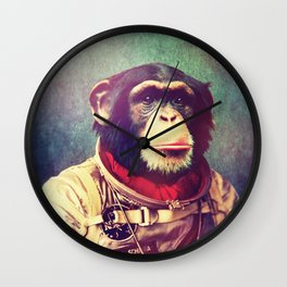 astro monkey Wall Clock
