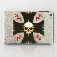 warhammer iPad Cases featuring Black Voltigeurs by Imperial Diet