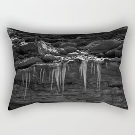 Black Ice Rectangular Pillow