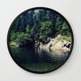 Water Hole Wall Clock