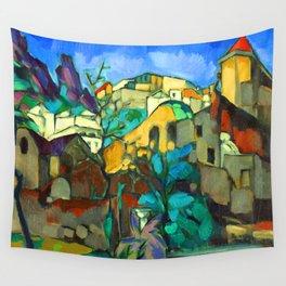 Konrad Magi Capri Landscape Wall Tapestry
