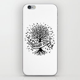 Branch Out iPhone Skin