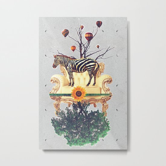 The world upside down. Metal Print