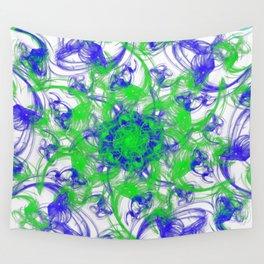 Symmetrical Swirl Wall Tapestry