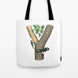 Acorn Woodpeckers Tote Bag