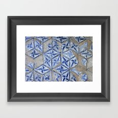 Tiling with pattern Framed Art Print
