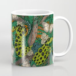 entangled forest rust Coffee Mug