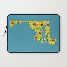 Maryland in Flowers Laptop Sleeve