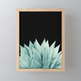 Agave Vibes #11 #tropical #decor #art #society6 Framed Mini Art Print