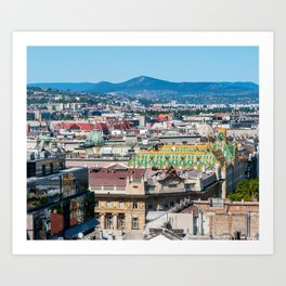 Museum of Applied arts - Budapest, Hungary Art Print
