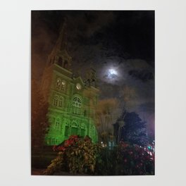 Spooky Church Poster