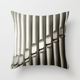 Pipes Throw Pillow