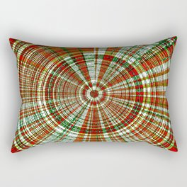 Holiday Bullseye Rectangular Pillow